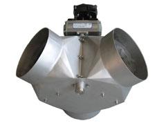 Клапан с пневматическим приводом